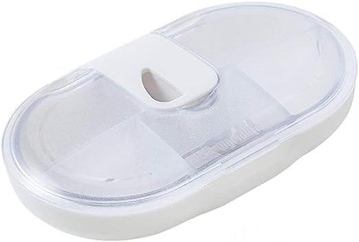 Organizador de Pastillas de Viaje con Caja de Pastillas pequeñas ...