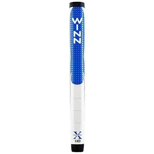 Winn Pro X Putter Grips, 1.18-Inch, Blue/Gray