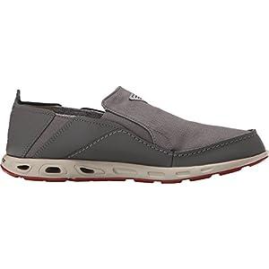 Men's Columbia Bahama Vent PFG Slip-on Boat Shoes, CITY GREY/GYPSY, 10D