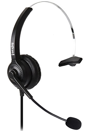 Corded Headset with Microphone for Cisco IP Telephone 7940 7960 7970 7962 7975 7961 7971 7960 8841 9941 M12 M22 and All 79xx Series