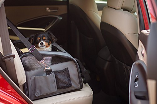 Iconic Pet FurryGo Luxury Booster Seat, Small, Dark Grey by Iconic Pet (Image #11)