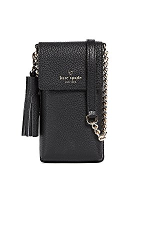 Kate Spade New York Women's North South Cross Body Bag, Black, One Size