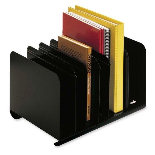 MMF26413BRBLA - Six-Section Adjustable Book Rack