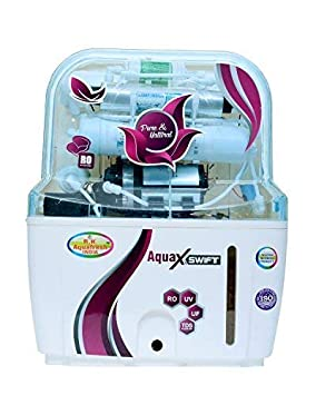 R.K. Aqua Fresh India Zx14Stage 15 Liters RO UV UF Mineral Technology Water Purifier - Off White