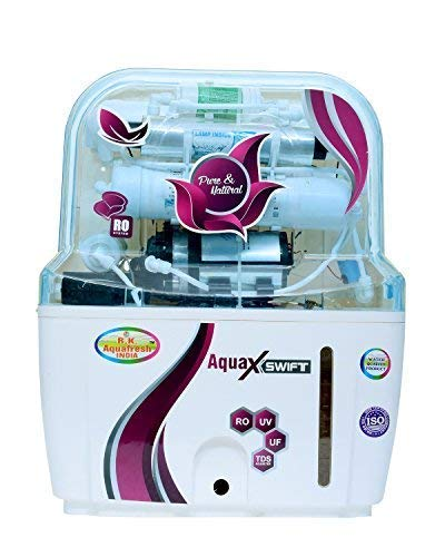 R. K. Aqua Fresh India Zx14Stage 15 Liters RO UV UF Mineral Technology Water Purifier - Off White