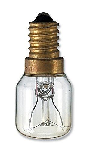 Una bombilla para nevera marca Leuci 15 W E 14 - T 20: Amazon.es ...