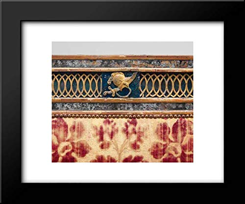 - Italian, Sicily Culture - 18x15 Framed Museum Art Print- Triple-Back Settee (Part of a Set)