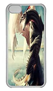 Dragon Custom iPhone 5s/5 Case Cover Polycarbonate Transparent