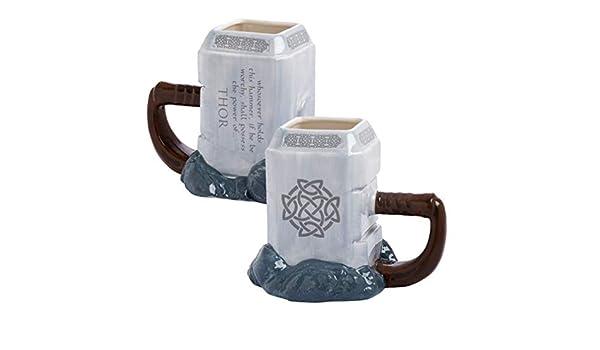 EASTVAPS Taza de Modelado Thor 3D Vaso de Agua Animado de Gran ...