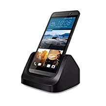 ABC® Desktop Charging Cradle Stand Charger Dock + USB Cable For HTC One M9