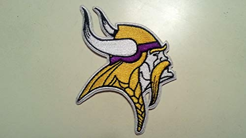 (Minnesota Vikings Embroidered Ragnar Patch~3 1/4