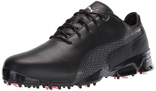 Puma Black Dark Shadow - Puma Golf Men's Ignite PROADAPT Golf Shoe, Puma Black-Dark Shadow, 10.5 Medium US