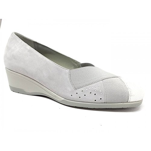 Pearl Grey Women's Confort Grey Grey Flats Loafer Pearl 8nIfR