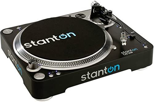 Stanton T92 USB DJ Turntable - Amazing Sound with Little Distortion