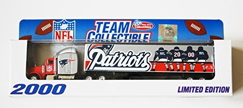 Team Collectible 1:80 Scale Diecast Tractor Trailer New England Patriots (New England Patriots Collectibles)