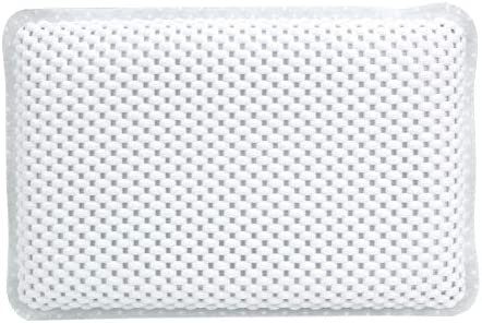 Almohadilla de la Almohada de la ba/ñera con ventosas Almohada de Masaje Impermeable para ba/ñera Soporte ergon/ómico para la Espalda Relax Home SPA