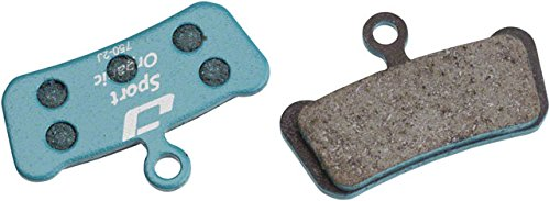 Jagwire Sport Organic Disc Brake Pads for SRAM Guide RSC, RS, R, Avid Trail -