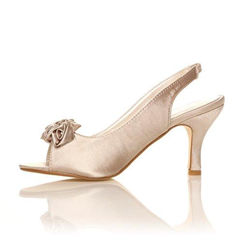 CORE COLLECTION  Ellen, Damen Sandalen champagnerfarben