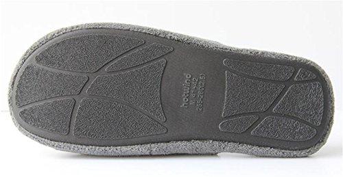 Aire Gris W Algodón Hombres 40 44 Libre Zapatos Casa La Para Zapatillas Gray Simples Slip Color Habitación De Cálidos Cómodos amp;xy Al pqwpTC4