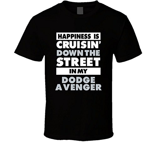 happiness-is-cruisin-down-the-street-in-my-dodge-avenger-car-t-shirt-2xl-black