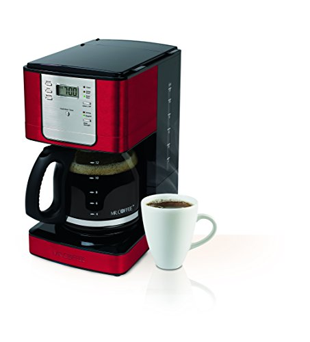 Mr Coffee Microwave Coffee Maker : Mr. Coffee JWX36-NP Advanced Brew 12 Cup Programmable Coffee Maker, Red Appliances Store