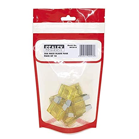 Sealey MF8010 Automotive MAXI Blade Fuse 80A Pack of 10