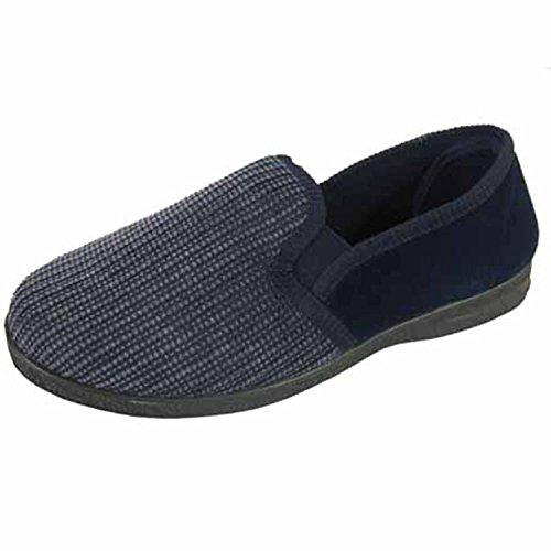 Marrón Azul Coolers De Por Para Hombre Eu 46 Estar Casa Sintético 41 Zapatillas Material AOqArz
