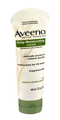 Aveeno Active Naturals Daily Moisturizing Lotion 2.5 oz tube