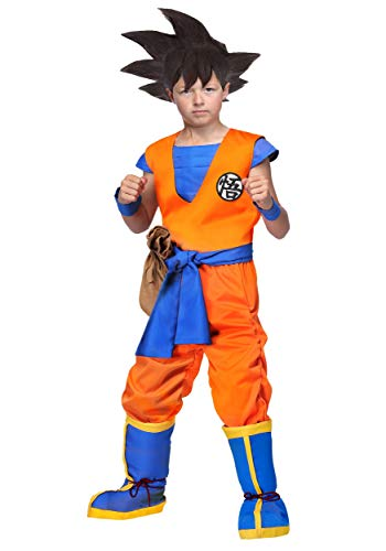 Dragon Ball Z Authentic Goku Kids Costume Large]()