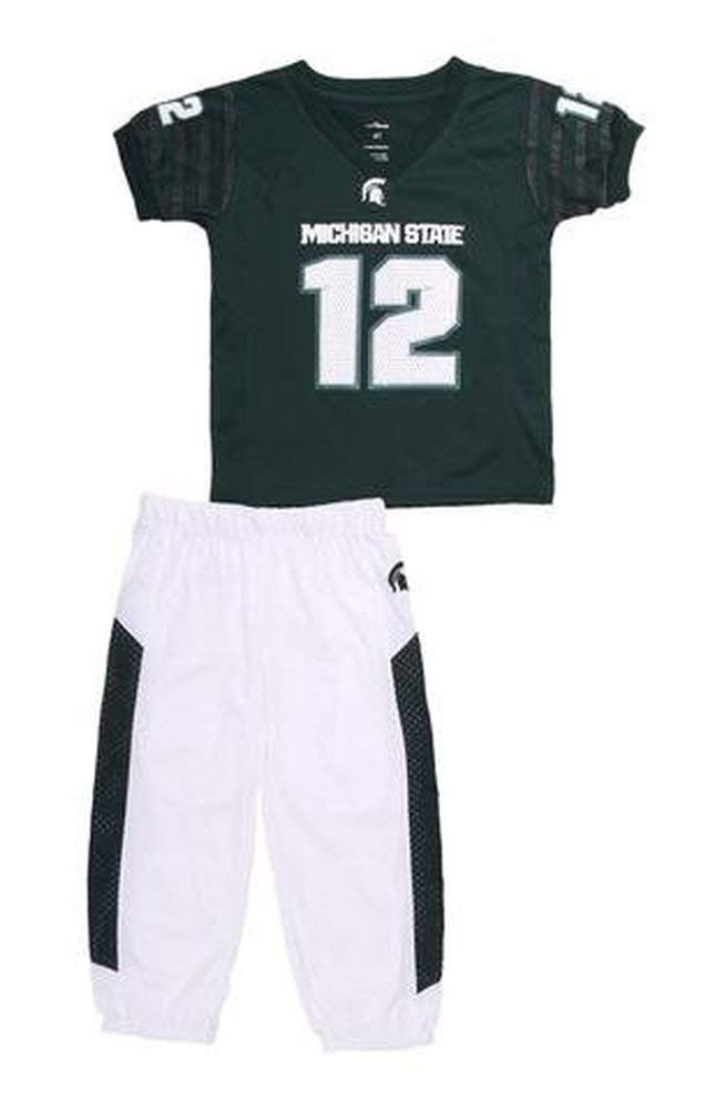 Michigan State Spartans Dream Team Pajama Set (6) White by Fast Asleep