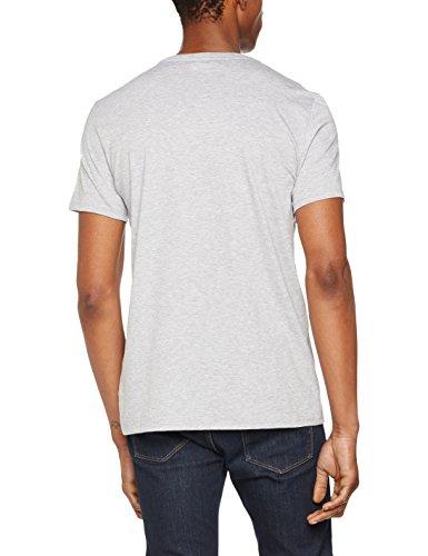 Lacoste Grigio Uomo shirt T Chine silver BqrBFtxw
