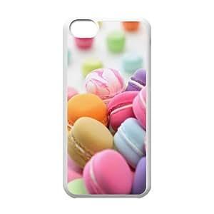 Iphone 5C Macaron Phone Back Case DIY Art Print Design Hard Shell Protection HGF048480