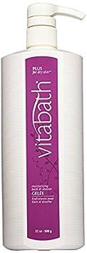 Vitabath Moisturizing Bath Shower Gelee Buy One, Get One Free Bonus Pack PLUS for DRY SKIN 32oz