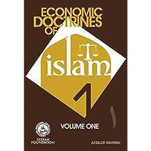 Economic Doctrines of Islam: Volume 1