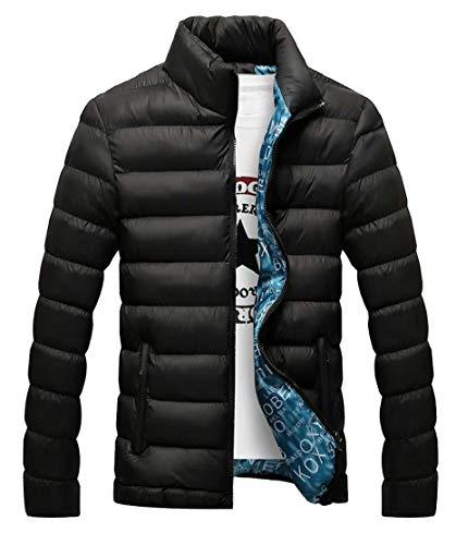 Outwear Supporto Leggera Alternativa Eku Giù Maschile Collare Piumino Nero Ripiegabile a8fq7