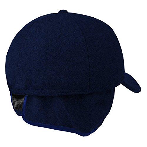 con vellón Azul Azul and Orejeras Marino – cm Work Style Marino 60 Invy Gorra de qZxwIOt4R
