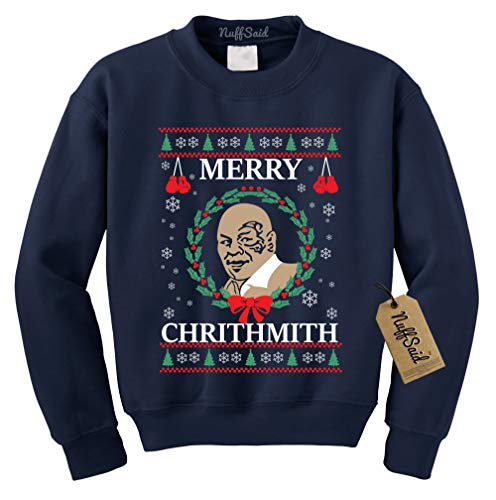 NuffSaid Merry Chrithmith Chirithmith Mike Tyson Ugly for sale  Delivered anywhere in USA
