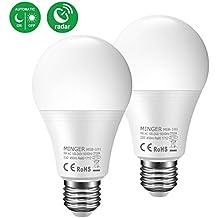 Motion Sensor Light Bulb 5W, 50W Equivalent Smart Bulb Radar LED Motion Sensor Light Bulbs E26 Base Indoor Sensor Night Lights Soft White 2700K Outdoor Motion Sensor Bulb Auto On/Off …