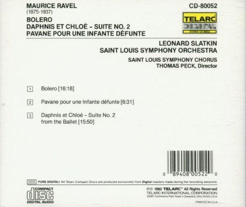 Bolero: Daphnis and Chloe Suite No. 2 / Pavane Pour Une Infante Defunte