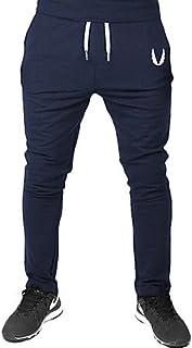 YYNANKU TT&Men's Pants Hombre Pantalones de Deporte Holgado Pantalones - Un Color, Color Puro, XL