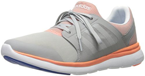watch d95c4 d08da Galleon - Adidas NEO Womens Cloudfoam Xpression Mid Shoes,Clear Onix  GreyWhiteSun Glow,6 M US