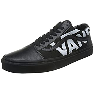 Vans Unisex Old Skool (Classic Tumble) Skate Shoe 9 Black