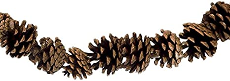 CraftMore Pine Cone Christmas Garland 72 Inch