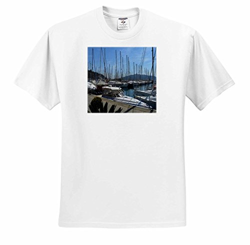 Taiche - Photography - Turkey - Netsel Yacht Marina Marmaris Turkey - T-Shirts - Adult T-Shirt Medium (ts_243224_2)