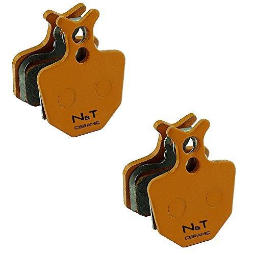 formule ORO K18 2x Noah and Theo nt-bp009//CR c/éramique plaquette frein /à disque compatible avec formule Oro formule Oro K24 formule oro puro et Formule Oro Bianco
