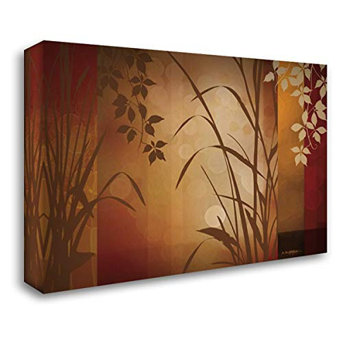 Flaxen Silhouette 40x28 Gallery Wrapped Stretched Canvas Art by Aparicio, Edward