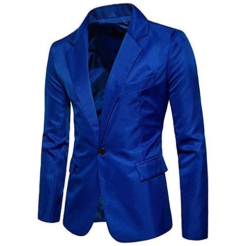 Aderente Blau Taglie Fashion Hx Elegante Abito Abiti Con Bottone Giacca Smoking Banchetto Un Comode Da Uomo qSjLGMVpUz