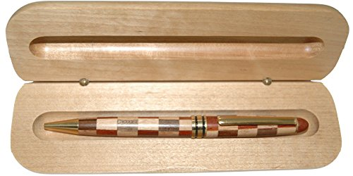 Multi Wood Color Ballpoint Pen in Maple Wood Box