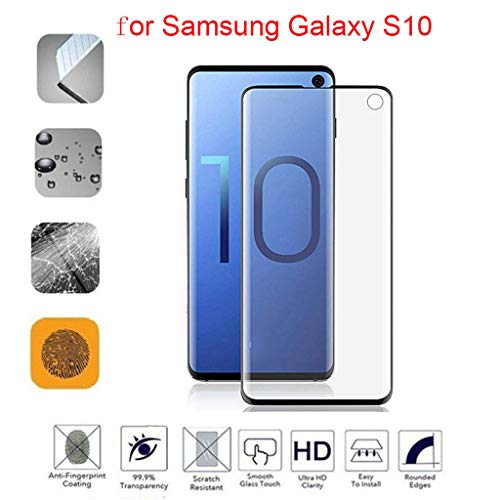 Cyhulu 2019 New Premium Clear Transparent PET Film Screen Protector Accessories for Samsung Galaxy S10 6.1 inch Phone by Cyhulu (Image #4)