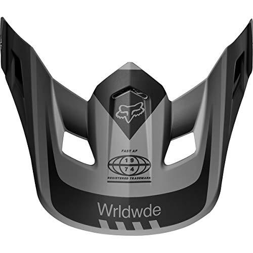 Fox Racing 2019 V2 Helmet Visor - Murc (BLACK) (Fox Visor)